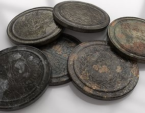 3D model Old Coin - Artifact