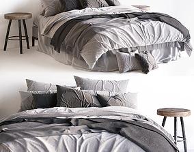 Bed Scandinavian 2 3D