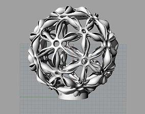 3D print model Flower Lampshade