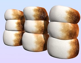 3D model Marshmallows