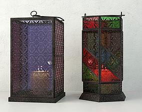 3D Moroccan Votive Lamps