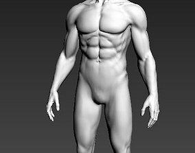 3D print model male character
