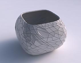 3D print model Bowl semi-quadratic with chaos plates