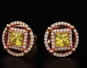 3D print model Princess Diamond Earrings 544