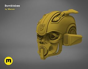 3D printable model Bumblebee 2018 beetle wearable head