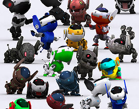 animated 3DRT - Robopuppies