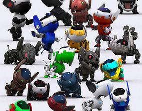 animated 3DRT - Robopuppies