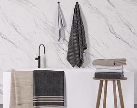 3D Towel set