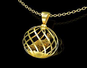 Dove Pendant jewelry Gold 3D printable model
