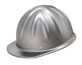 3D cap Skull Bucket Aluminum Hard Cap - shell only