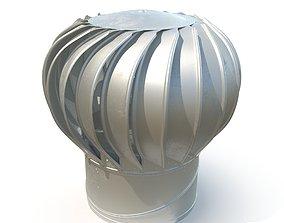 Roof turbine 3D model