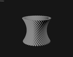 3D Printed Planter Plant Pot Plant Vase 067