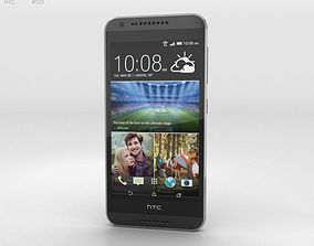 3D HTC Desire 620G Tuxedo Grey