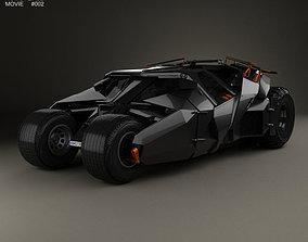 3D Batmobile Tumbler 2005