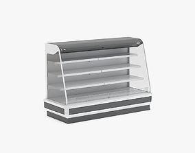 3D model Supermarket Multideck Empty