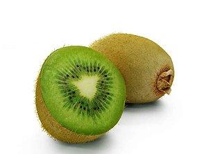 Green Kiwi Fruit 3D