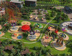 amusement park5 3D