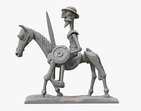 3D printable model Don Quixote of La Manch