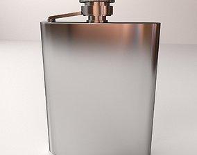 3D Hip Flask