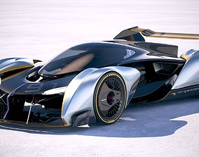 3D model McLaren Ultimate Vision Gran Turismo