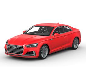 3D model Audi S5 2017