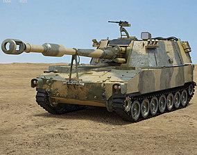 3D model M109 Howitzer