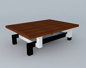 3D model Table wooden