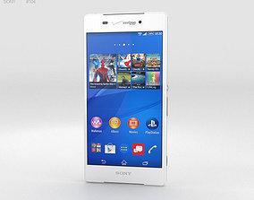 Sony Xperia Z3v White 3D