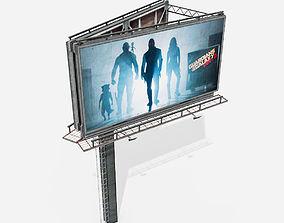 billboard 3D asset Billboard
