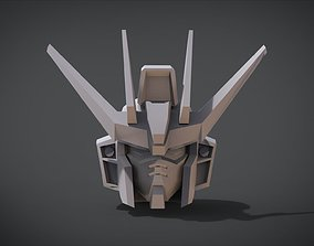 Sword Strike Gundam Head 3D print model