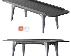3D District Eight - Salk Coffee Table Rectangula