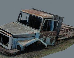 3D asset GAZ 3307