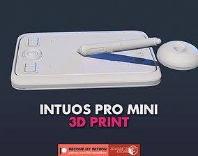 poly Assets - Wacom Intuos Pro Mini 3D print model