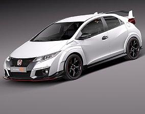 Honda Civic Type R 2016 3D