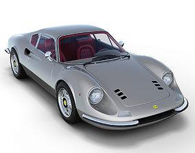 3D model Ferrari 246 GT Dino