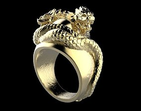 Dragons Ring 3D print model