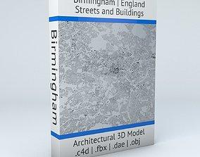Birmingham Streets and Buildings 3D