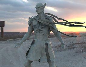 3D Mars Hybrid monster warrior