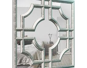3D model Elmwood Accent Mirror BL21605