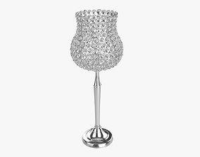 3D model Crystal candle holder