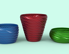 Plants Pots 3D printable model