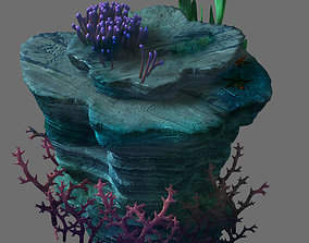 Game Model - Seabed - Coral Tree 1 3D