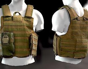 Bulletproof vest 3 3D