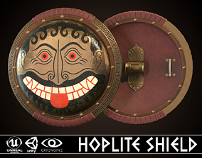 3D model Hoplite Shield Face