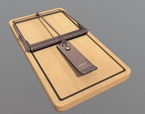 Mousetrap 3D asset VR / AR ready