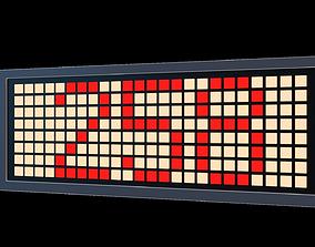 LED board 3D model