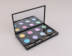 Eye Shadow Palette 3D model
