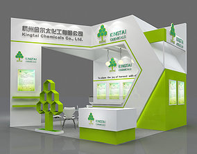 Hangzhou Jiner 36 square meters three open booth model