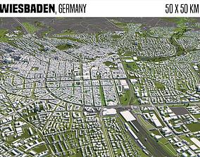 Wiesbaden Germany 3D model