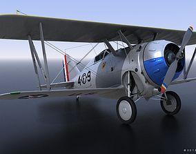 GRUMMAN F2F-1 US Marines 1937 3D model